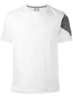 футболка с принтом на рукаве Moncler Gamme Bleu