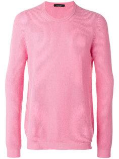 свитер с рубчик  Roberto Collina