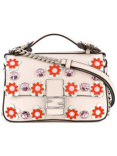 декорированная сумка через плечо Double Baguette Fendi