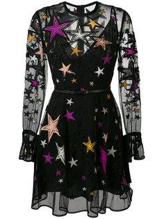 платье с узором из звезд Elie Saab