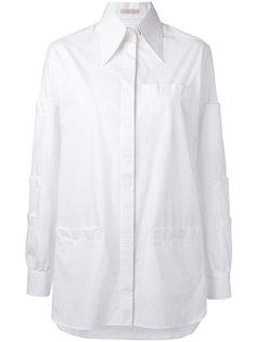 рубашка на липучках Christopher Kane