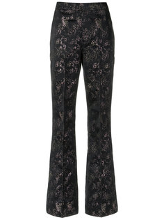 printed flared trousers Tufi Duek