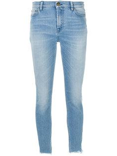 выбеленные джинсы скинни  Mr & Mrs Italy