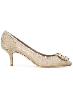 кружевные туфли  Dolce & Gabbana