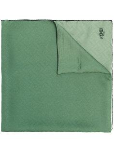 шарф с монограммным узором Fendi