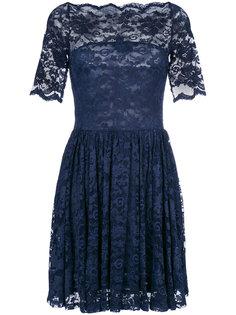 гипюровое платье Ganni