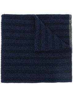 ребристый кашемировый шарф Brunello Cucinelli