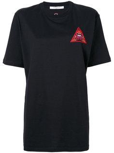 футболка с нашивкой Illuminati Givenchy