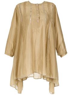 pineapple wide blouse Martha Medeiros