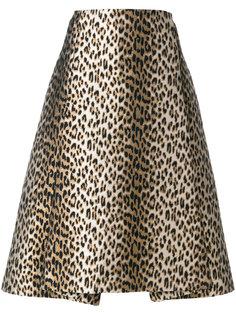 юбка с леопардовым принтом  Antonio Marras