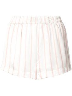 полосатые пижамные шорты Asceno