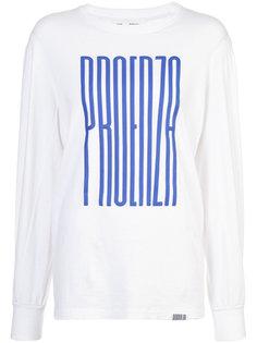 футболка с графическим принтом PSWL Proenza Schouler