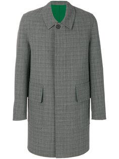 клетчатое пальто Ami Alexandre Mattiussi