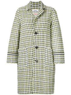 твидовое пальто Spring COOHEM