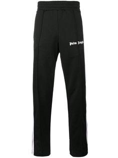 монохромные спортивные брюки с полосками Palm Angels