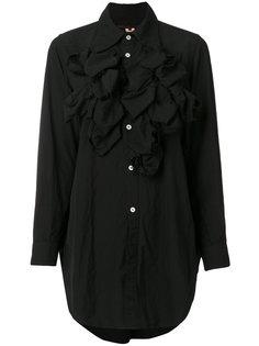 фактурная рубашка с бахромой  Comme Des Garçons