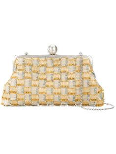 клетчатый клатч Sarah's Bag