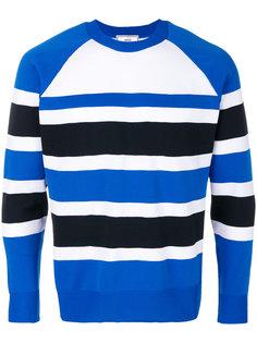 полосатый свитер с рукавами-реглан Ami Alexandre Mattiussi