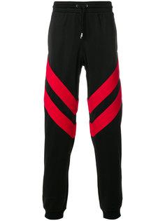 спортивные брюки в полоску Givenchy