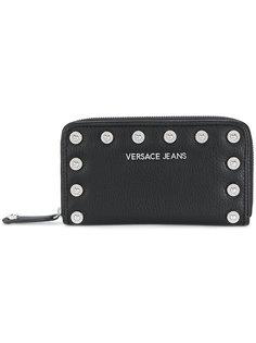кошелек с заклепками Versace Jeans