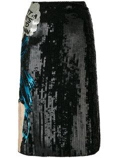 декорированная юбка Walk Alone Olympia Le-Tan