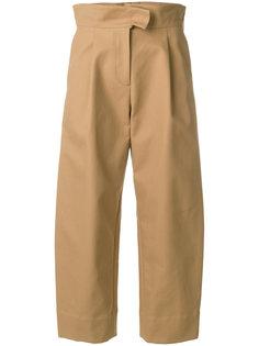укороченные брюки с завышенной талией Carven