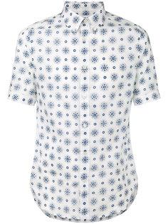 рубашка с принтом Alexander McQueen