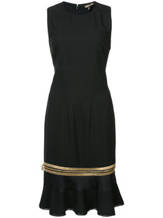 платье с оборками Roberto Cavalli