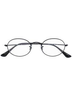 очки в овальной оправе Ray-Ban