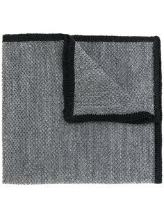 нагрудный платок с контрасной окантовкой Etro