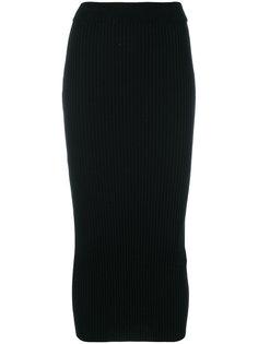 приталенная юбка-миди Kenzo