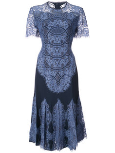 кружевное платье-миди Jonathan Simkhai