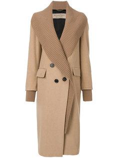 двубортное пальто на пуговицах  Burberry