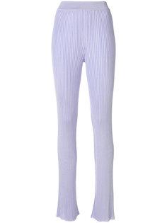 брюки в рубчик  Emilio Pucci