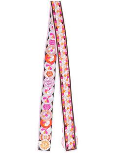 шарф с ажурной отделкой Emilio Pucci
