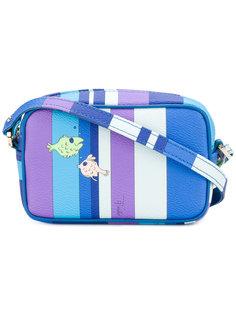 сумка на плечо с принтом рыб Emilio Pucci