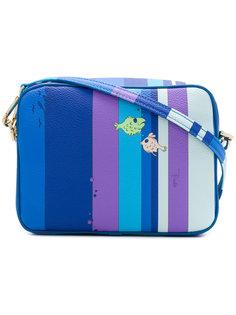сумка на плечо с рыбами Emilio Pucci