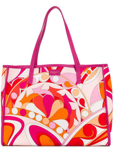 сумка-шоппер с принтом Emilio Pucci