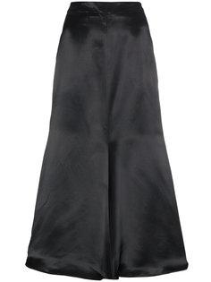 атласная юбка-миди Minos Beaufille