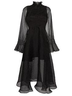 шифоновое платье миди Beaufille