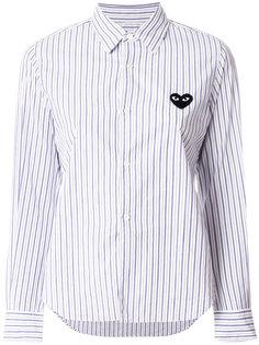 рубашка в полоску с логотипом  Comme Des Garçons Play
