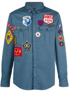 Badge shirt Dsquared2