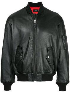 куртка-бомбер со шнуровкой G.V.G.V.
