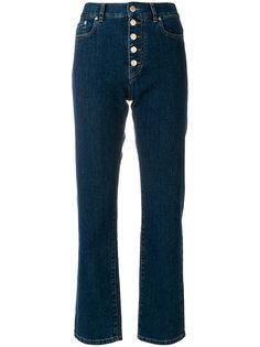 укороченные джинсы прямого кроя Joseph