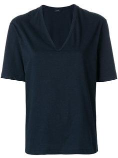 футболка с V-образным вырезом Joseph
