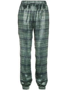полосатые спортивные брюки Haney