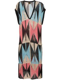 платье с геометрическим узором A Peace Treaty