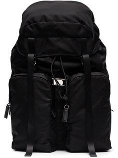 сумка через плечо с карманом на молнии Prada