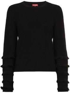 вязаный свитер Marr с бахромой Staud