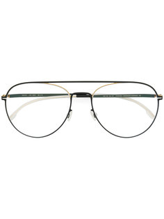 очки в стиле авиаторов Mykita